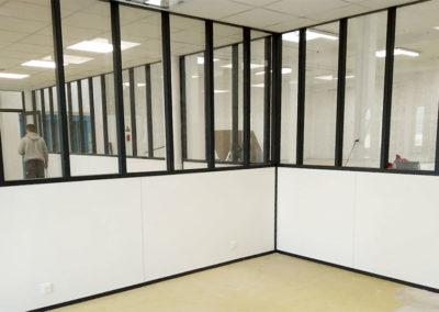 Cloisonnement bureaux