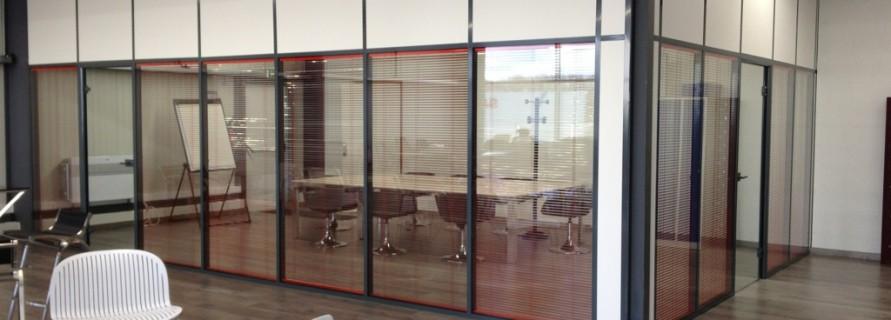 Isoplaf cloisonnement de bureaux for Cloison vitree prix