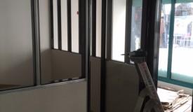 cloisons semi-vitrées