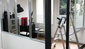 aménagement salle réunion style atelier