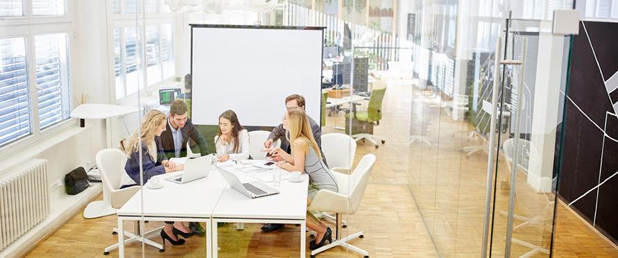 Aménager une salle de réunion dans un bureau