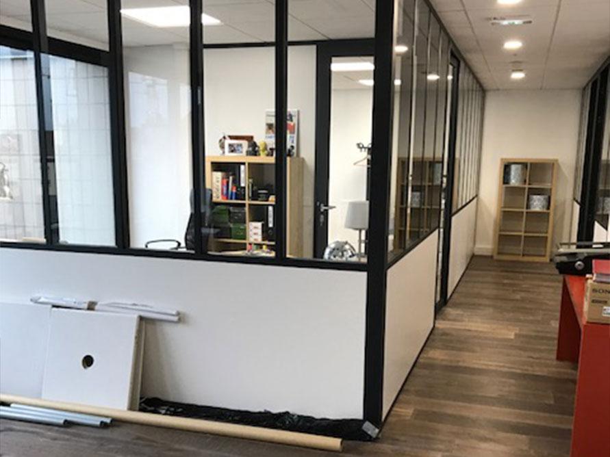 Aménagement nouveaux locaux à Boulogne-Billancourt