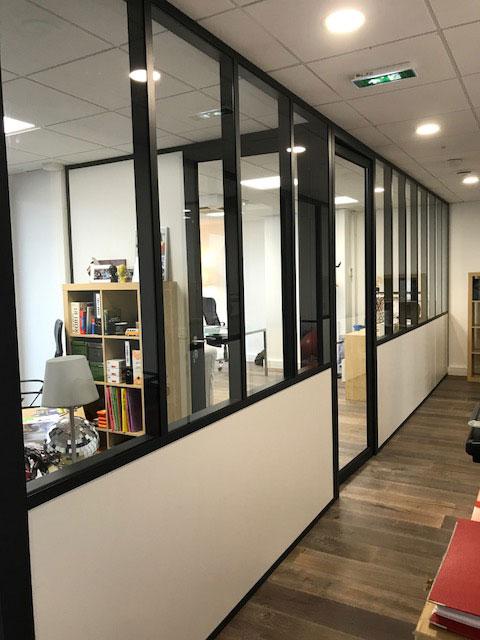 Création salle de réunion