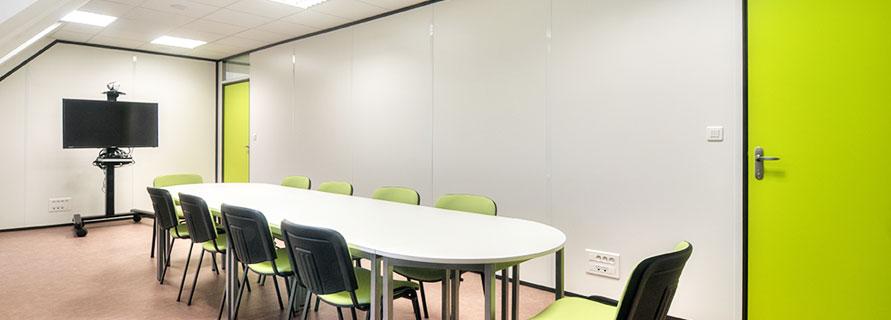 Isoler des bureaux avec des cloisons amovibles