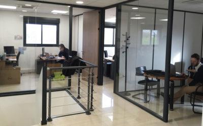 Rénovation complète de bureaux aux Ulis