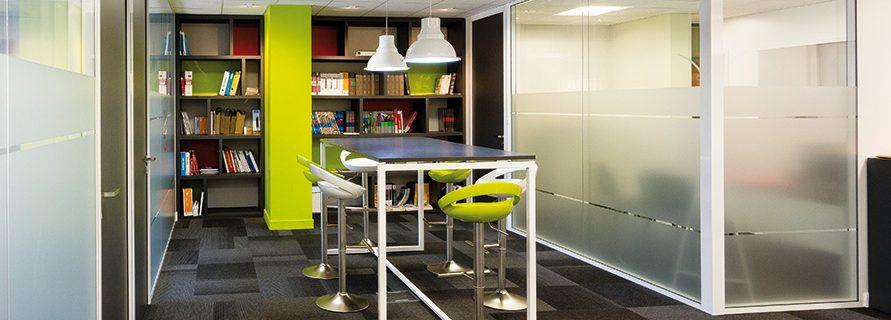 cloison salle réunion design