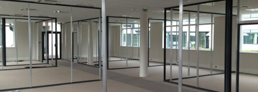 Cloisonner un open space am nagez un espace collaboratif for Conception bureau open space