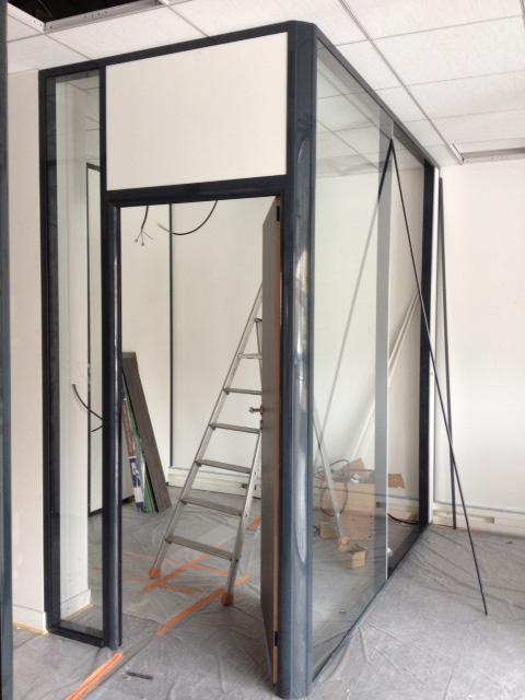 Installation cloison