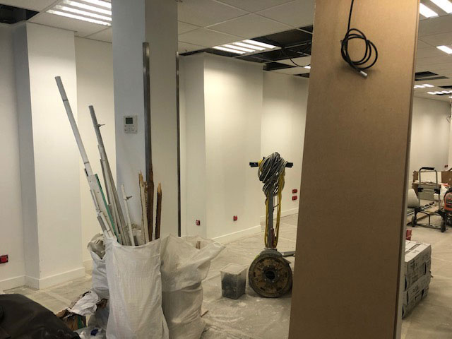 Cloisonnement de bureaux à Paris 16