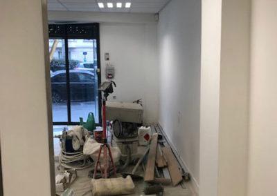 Aménagement bureaux Paris en cours