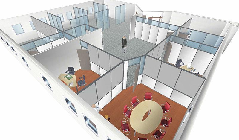Rénovation plateau de bureaux