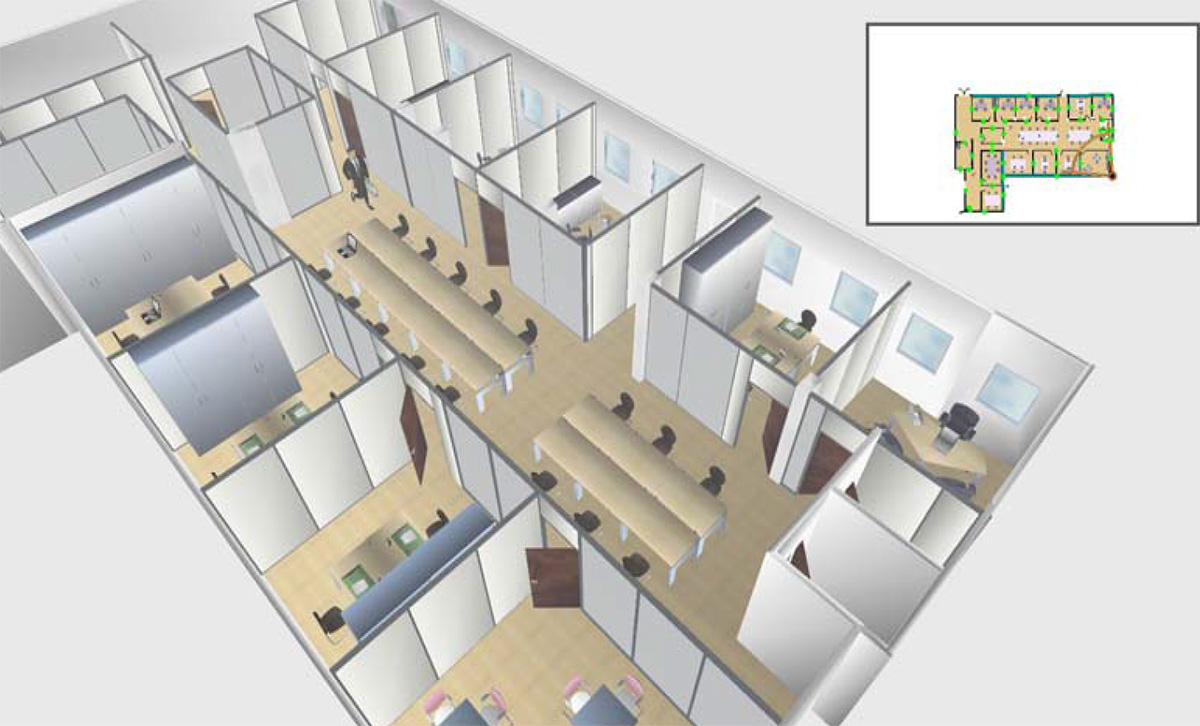soci t de consulting r novation compl te d un plateau. Black Bedroom Furniture Sets. Home Design Ideas