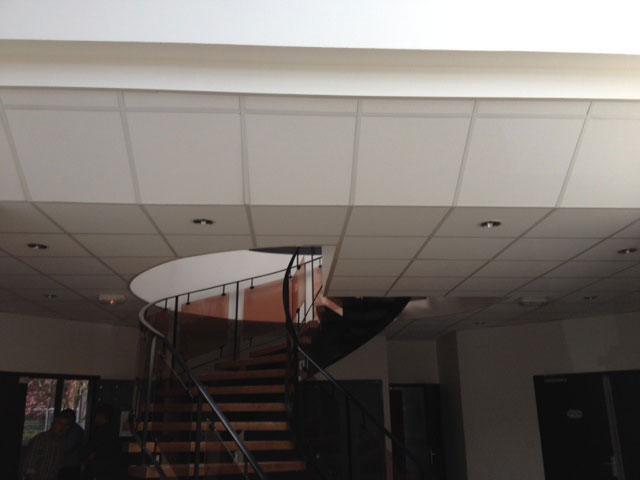 Réalisation faux-plafond