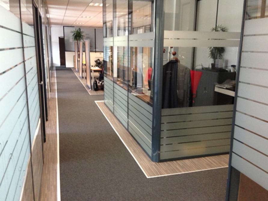 Société de consulting – rénovation complète d'un plateau de bureau à Malakoff